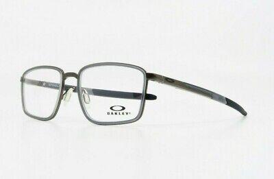 Oakley Men's Rectangular Spindle Pewter/Black Glasses OX 3235-02 54mm (Oakley Reading Glasses Men)