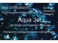 Aqua jetwash & Garden services