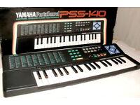 Yamaha Portasound PSS-140 Electronic Keyboard