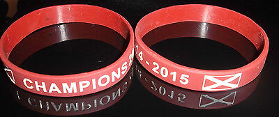 HEARTS FC WRISTBAND CHAMPIONS 2014-2015