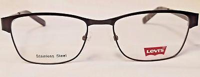 Levis LS629 Original Eyeglasses Strong Modern Frame Black an