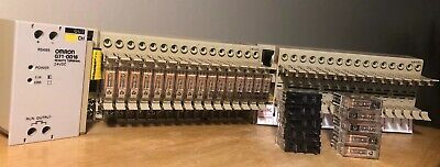 sehr guter Zustand Omron Typ G71-OD16 Remote Terminal