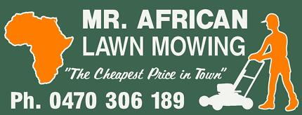 MR. AFRICAN LAWN MOWING