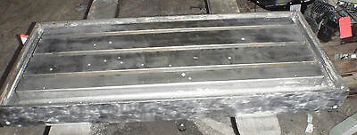 48.5 X 21 X 4 Steel Welding T-slotted Table Cast Iron Layout Plate 3 T-slot