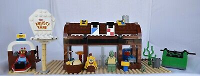 Lego SpongeBob SquarePants Krusty Krab 3825 99% Completed