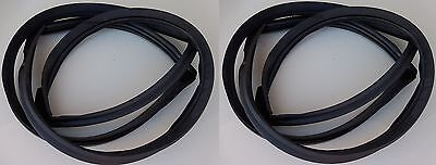 Weatherstrip Window Seal Dart Front & Back 2DR HD 68-76 Glass Windshield Rubber