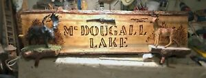 Hand made live edge signs ! Can be custom