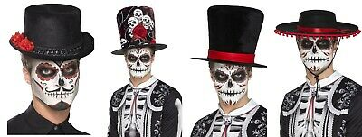 Men's Day Of The Dead Festival Fancy Dress Hats Carnival Halloween Stag Theme Do](Carnival Themed Costumes)