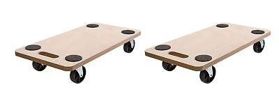 2 Stück Rollbrett Transportrolle Möbelroller Möbelhund Roller Transporter 200 kg
