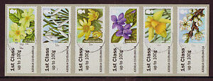 GREAT BRITAIN 2014 BRITISH FLORA 1, SPRING FLOWERS POST AND GO FINE USED