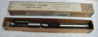 Nos Vintage Adjustable Reamer L.o. Beard B 1732-1932 In Original Box