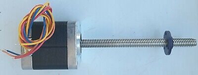 Minebea 17pm-k458-02vs Stepper Motor With Approx. 4 14 Screw Shaft 1.8 Degree