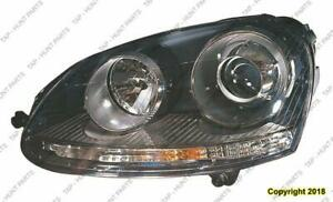 Head Light Driver Side(Xenon) High Quality Volkswagen Jetta 2005-2010