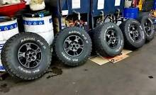 "Pajero 16"" Alloys with 33"" All Terrain Tyres Sydney City Inner Sydney Preview"