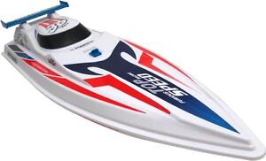 R/C SPEEDBOAT NEW IN BOX -- FLIES LIKE CRAZY ACROSS THE WATER -- SO MUCH FUN YOU WON'T BELIEVE IT'S LEGAL !!
