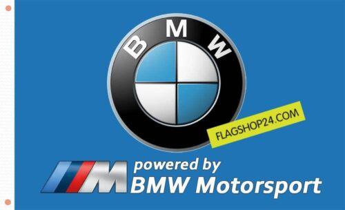 FREE SHIP TO USA BMW FLAG BANNER SIGN BLUE MOTORSPORT POWER 3x5 FEET M5 M6 M3