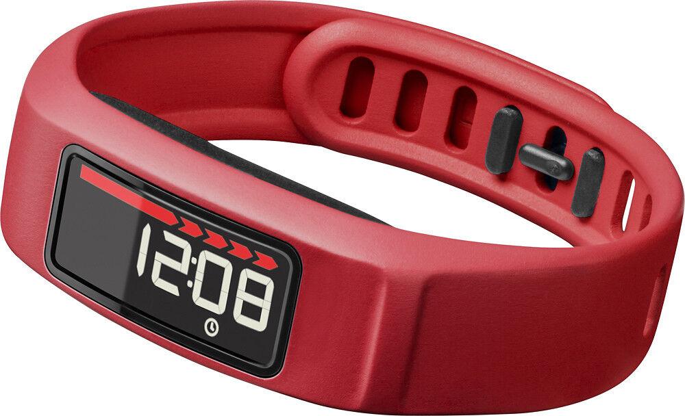 Купить Garmin - NOB Garmin Vivofit 2 Bluetooth Activity Tracker Fitness Band - Red