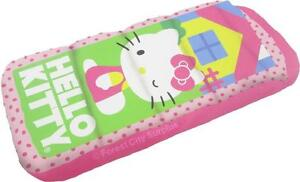 New - HELLO KITTY INFLATABLE CHILD SIZE AIR BEDS - IDEAL FOR TRAVEL AND SLEEP OVERS - EASY TO STORE WHEN NOT IN USE !!