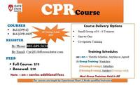 CPR for Healthcare Providers  and Students