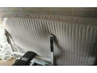 Used ikea double bed mattress