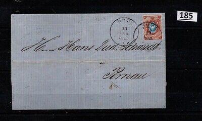 /// RUSSIA, LATVIA 1869 - COVER
