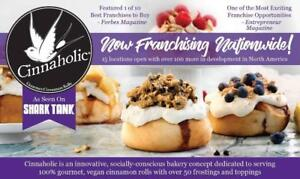 Your chance to own a Cinnaholic Franchise!