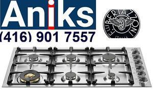 """Bertazzoni QB36600XBoxing week Sale $1799 36"""" Drop-in Gas cooktop"""