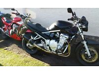 Suzuki Bandit GSF650 K7 (ideal first bike)