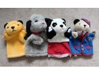 Official Sooty, Sweep, Sue & Scampi Hand Puppets (Toy Glove Puppets, Sooty & Co, The Sooty Show)