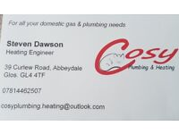 Cosy Plumbing & Heating - Gas Safe Registered