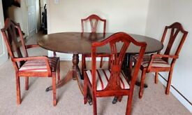 Dining table-chair