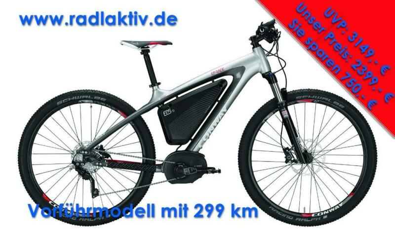 conway elektrorad e bike emr 629 vorf hrmodell wie neu. Black Bedroom Furniture Sets. Home Design Ideas