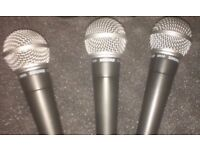 Shure SM58 (Almost new, Free P+P)