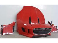 Car Part: Single unit front end Jaguar F type 2013 - 2017 LHD