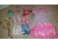 Bundle of Princess Dress Up Accessories x 21 items