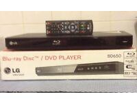 LG Blu-ray DVD player