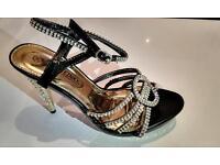 Brand new Ladies women Dianamte party evening prom bridal hi heels shoes sandals