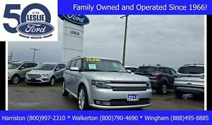 2013 Ford Flex Limited AWD | Leather | NAVIGATION
