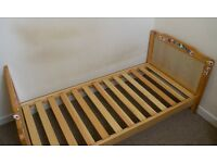 Cot bed/ toddler bed (convertible)