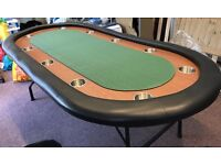 10 seater poker table with drink holders