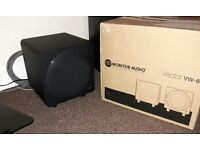 "Home cinema 8"" active subwoofer 100 watts"