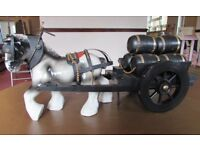 China Shire Horse & Cart