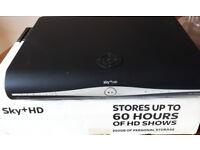 SKY PLUS + HD BOX and Remote