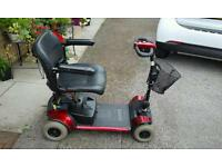 Pride Go Go Traveller Plus 4 Mobility Scooter