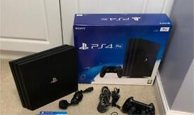 Sony PS4 Pro 2Tb. Boxed in excellent condition