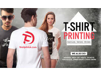 T-Shirt Printing - Customised, Personalised and Printed on Your Garment