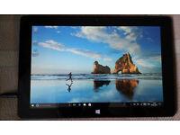 """10"""" Tablet Windows 10 Office Mobile KODI TV Movies Sports **Warranty** LIKE NEW"""