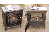Dimplex Club CXLB20N Woodburner-style 2kw Heater Excellent Condition