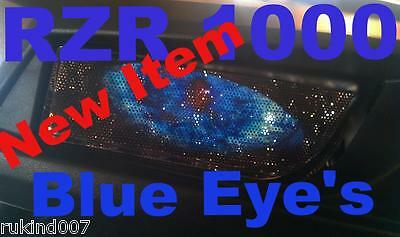 Polaris 2017 RZR 1000 900 BLUE EYE'S HeadLight Cover's Rukindcover's New