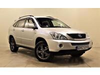 LEXUS RX 3.3 400H SE-L CVT 5d 208 BHP + SAT NAV + AIR CON + (silver) 2007